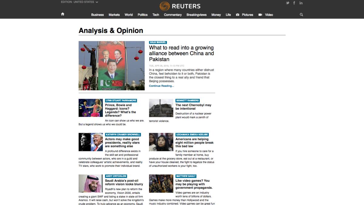 Reuters Wordpress
