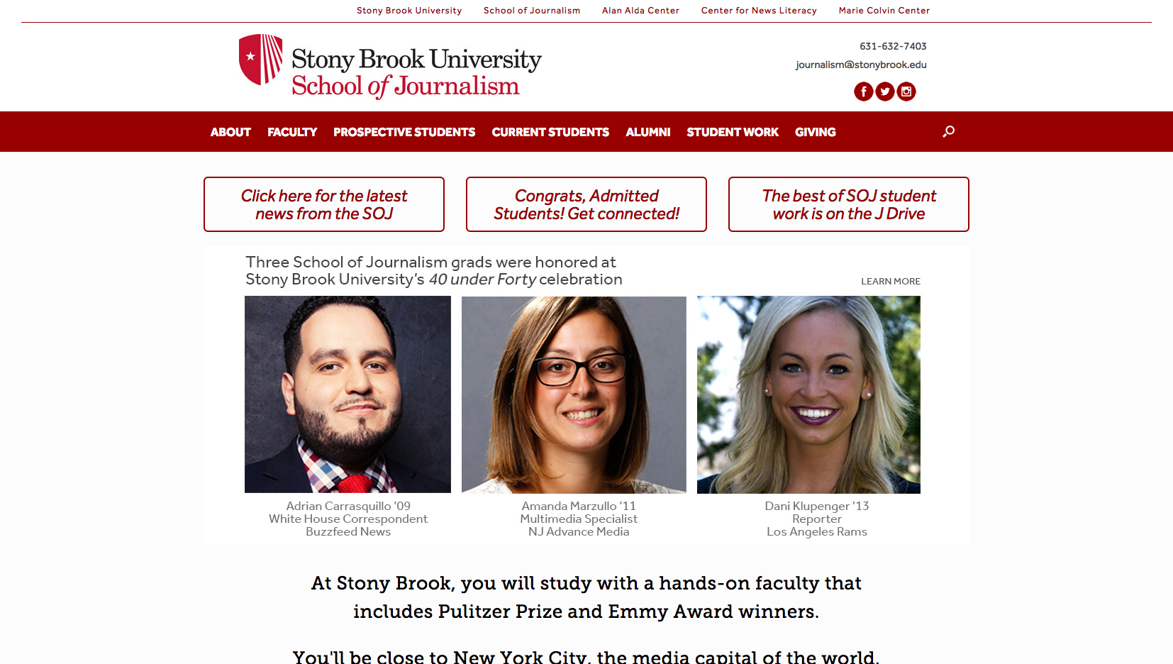 Stony Brook University – School of Journalism